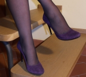 Do you want to buy used shoes or stockings from one of the models? Click here