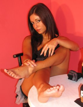 Italian Foot Fetish Girls on Passione Piedi
